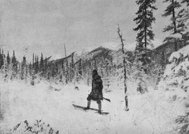 """A Moose Hunter""; Yukon Territory."