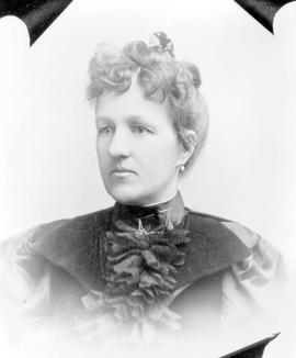 Mrs. Phillips, a pioneer of 1887; she and her brothers kept 22 Mile House until 1905.