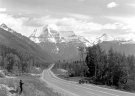 Highway 16 And Mount Robson