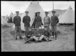 Soldiers at Vernon Military Camp