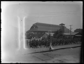168th Draft, 2nd Depot Battalion leaving Willows