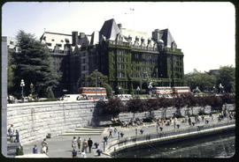 Victoria. Empress Hotel And The Causeway