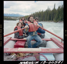 Rafting On Kootenay River