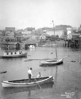 """Nanaimo BC, Commercial Inlet, 1906""."