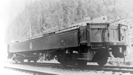 Pacific Great Eastern open observation car No. 16.