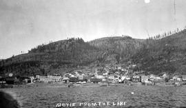 """Moyie from the lake""."