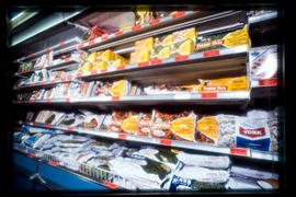 Packaged Products - Frozen Foods Section-Store
