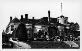 The second Government House, Victoria.