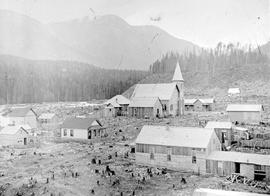 New settlement of Kaslo.