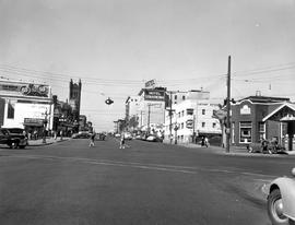 Looking north on Douglas Street from Humboldt; pictured are the Cathay Apartment Hotel, the Hotel...