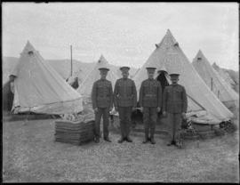 Military group at Vernon Camp