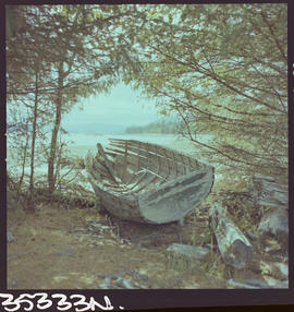 Abandoned Boat, Sewell Queen Charlotte Islands