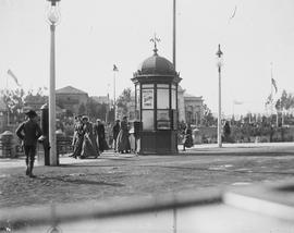 Golden Gate Midwinter Fair, San Francisco; Electric Tower ticket booth