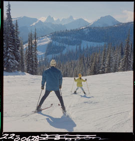 Skiing At Gibson Pass In Manning Park
