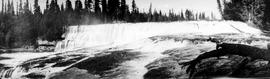"""Dawson Falls on the Murtle River, a tributary of the Clearwater River, tributary Thompson, ..."