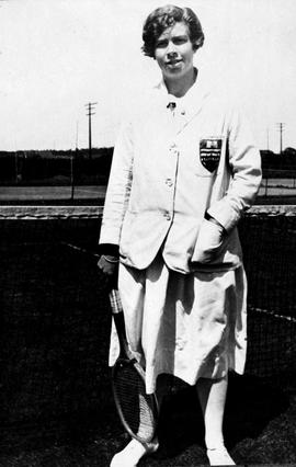 International tennis star Marjorie Leeming