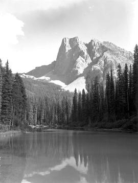 Yoho National Park. Mount Stephen From Yoho Valley