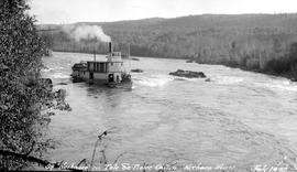 SS Nechacco in Isle de Pierre Canyon, Nechako RIver.