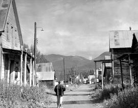 The Main Street Of Barkerville.
