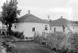 Wartime Housing In James Bay, Victoria.