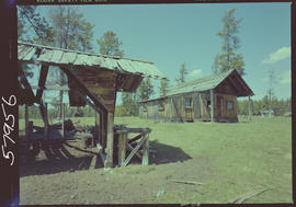 Old building on the X-J Ranch, Deadman Creek Valley