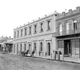 Post office, Government Street, Victoria, stereo view