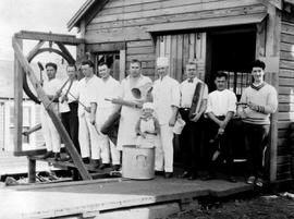Cook Staff At Brooks, Scanlan And O'Brien Sawmill At Stillwater